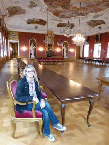 Fulda Stadtschloss Schloss Historische Räume Festsaal