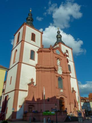 Fulda Barockviertel Kirche St.Blasius