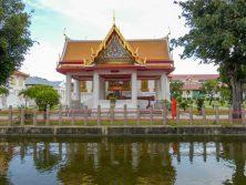 Thailand Bangkok Tempel Marmorpalast Wat