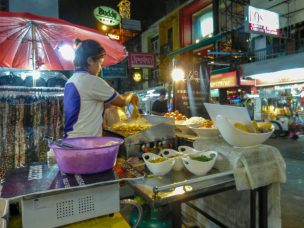 Thailand Bangkok Khao San Road Street Food