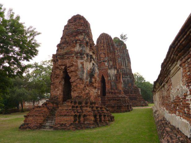Thailand Ayutthaya Tempelruinen