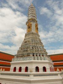 Thailand Bangkok Königspalast Königstempel Wat Phra Kaeo Chedi