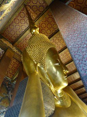 Thailand Bangkok Tempel Wat Pho Liegender Buddha