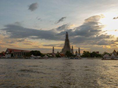 Thailand Bangkok Chao Praya Wat Arun