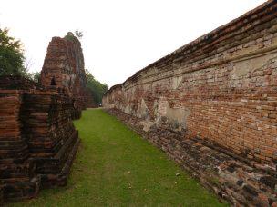 Thailand Ayutthaya Tempelruinen Tempel Ruine Wat Maha That