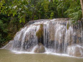 Thailand Erawan Nationalpark Wasserfall 7 Stufen Natur