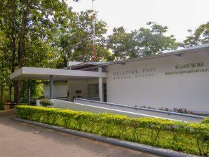 Thailand River Kwai Dschungel Hellfire Pass Memorial Museum