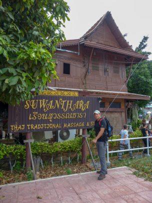 Thailand Ayutthaya Traditionelle Thai Massage