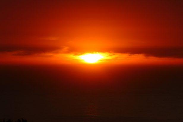 Südafrika Kapstadt Signal Hill Sundowner Sonnenuntergang
