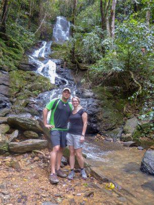 Thailand Khao Sok Nationalpark Dschungel Wasserfall