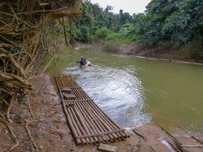 Thailand Khao Sok Nationalpark Dschungel Kajaktour Kajak Paddeln Fluss