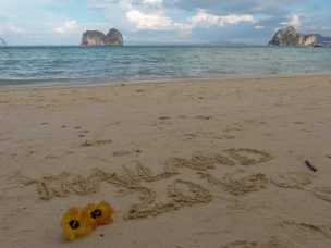 Thailand Koh Ngai Koh Hai Insel Andamanensee Inselparadies Strand Meer Sand