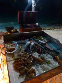 Thailand Koh Ngai Koh Hai Insel Andamanensee Inselparadies Restaurant Salalay Fisch Grill