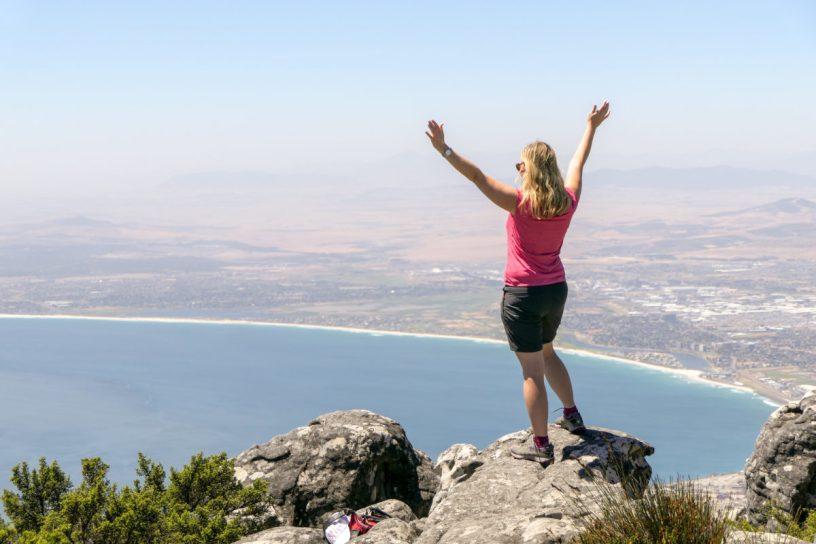 Südafrika Garden Route Kapstadt Cape Town Tafelberg Table Mountain Aussicht