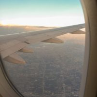 Thailand Krabi Bangkok Air Asia Inlandsflug Flugzeug
