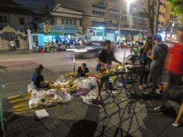 Thailand Bangkok Lichterfest Loi Krathong Verkauf