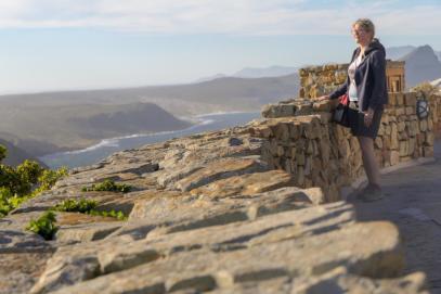 Südafrika South Africa Kap Halbinsel False Bay Cape Point Nationalpark Ausblick