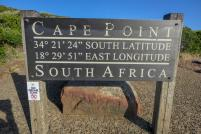 Südafrika South Africa Kap Halbinsel False Bay Cape Point Nationalpark Kapspitze Koordinaten Längengrad Breitengrad