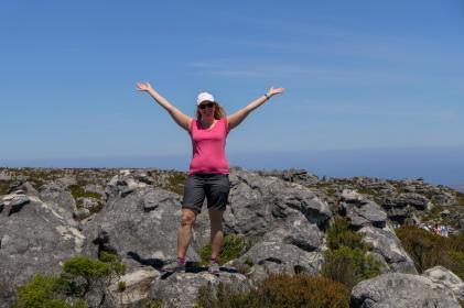 Südafrika Kapstadt Cape Town Tafelberg Table Mountain Felsen Plateau