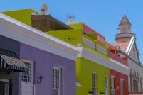 Südafrika South Africa Kapstadt Cape Town Bo-Kaap malayisches Sklavenviertel bunte Häuser bunt Moschee