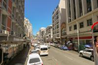 Südafrika Kapstadt Cape Town City Sightseeing Hop on Hop Off Bus Doppeldeckerbus Bustour Innenstadt Long Street