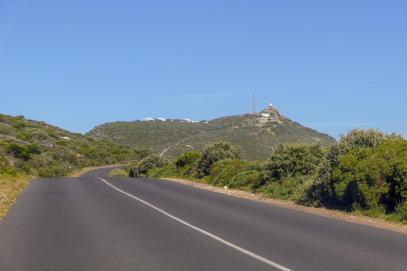 Südafrika South Africa Kap Halbinsel False Bay Cape Point Nationalpark Straße