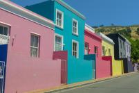 Südafrika South Africa Kapstadt Cape Town Bo-Kaap malayisches Sklavenviertel bunte Häuser bunt