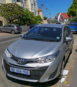 Südafrika South Africa Kapstadt Cape Town Mietwagen Royota Yaris Kompaktklasse