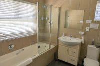 Südafrika Kapstadt Cape Town Anchor Bay Guesthouse Gästehaus Green Point Badezimmer