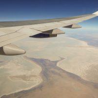 Südafrika Flugzeug British Airways Boeing 747 Flug Afrika