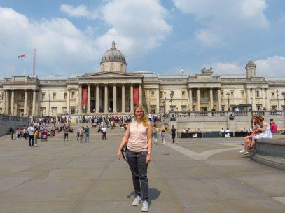 Großbrittanien England London West End Trafalgar Square National Gallery