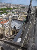 Frankreich Paris Notre Dame de Paris Kathedrale Glockenturm Turm Turmbesteigung Turmspitze Dach