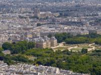Frankreich Paris Tour Montparnasse Ausblick Notre Dame de Paris Kathedrale Jardin du Luxembourg
