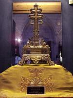 Frankreich Paris Notre Dame de Paris Kathedrale Gotik Schatzkammer Tresor Kirchenschatz Reliquien Kreuz Croix de Palatine