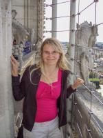 Frankreich Paris Notre Dame de Paris Kathedrale Glockenturm Turm Turmbesteigung Galerie eng