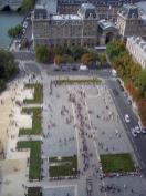 Frankreich Paris Notre Dane de Paris Kathedrale Glockenturm Turm Turmbesteigung Galerie Ausblick Parvis Vorplatz