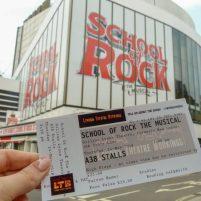 Musical School of Rock Gliilian Lynne Theatre London West End