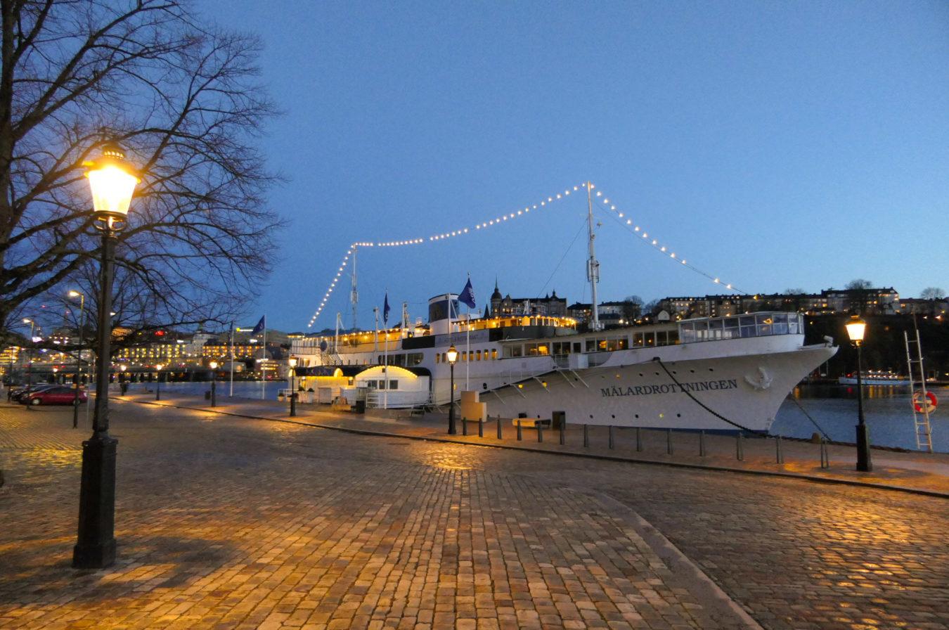 Schweden Stockholm Hotel Schiff Yacht Mälardrottningen Riddarsholmen