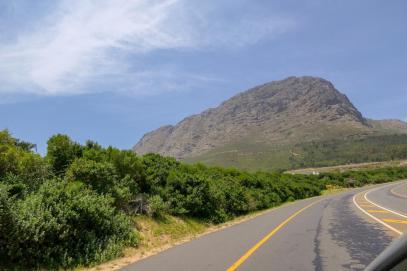 Südafrika South Africa Weinregion Winelands Franschhoek Pass Berge