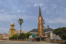 Südafrika South Africa Kap Mossel Bay City Kirche