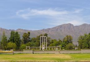 Südafrika South Africa Weinregion Winelands Franschhoek Hugenotten Denkmal