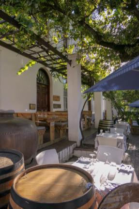 Südafrika South Africa Weinregion Winelands Stellenbosch Restaurant Oppie Dorp