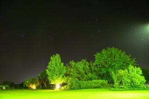 Südafrika South Africa Weinregion Winelands Stellenbosch Hoopenburg Guesthouse Garten Nacht Sternenhimmel Südhalbkugel südlich