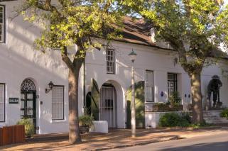 Südafrika South Africa Weinregion Winelands Stellenbosch Haus kapholländisch