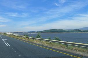 Südafrika South Africa Straße Stausee