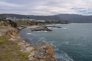 Südafrika South Africa Hermanus Kap Walker Bay Old Harbour Alter Hafen Meer Ausblick