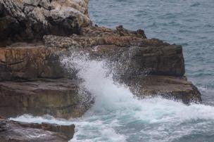 Südafrika South Africa Hermanus Kap Walker Bay Cliff Walk Klippenpfad Meer Brandung