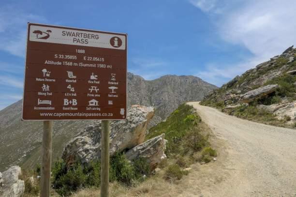 Südafrika South Africa Kleine Karoo Oudtshoorn Swartberge Swartberg Pass Berge höchster Punkt
