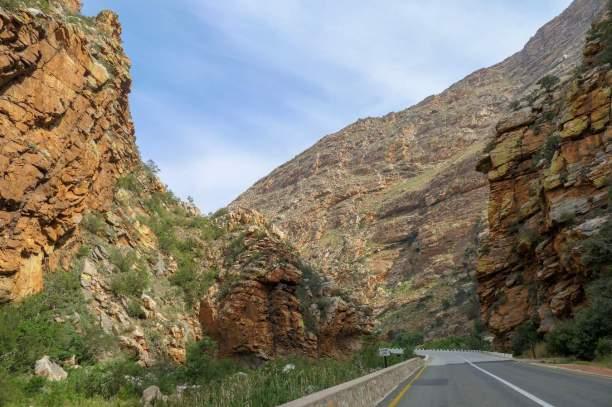 Südafrika South Africa Große Karoo Swartberge Meiringspoort Pass Schlucht