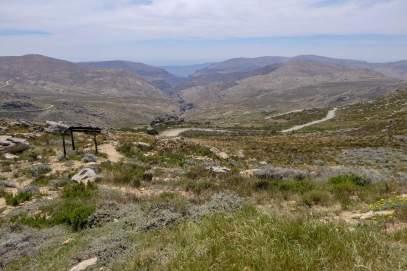 Südafrika South Africa Kleine Karoo Oudtshoorn Swartberge Swartberg Pass Berge Große Karoo Landschaft